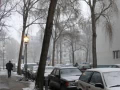 Der erste Schnee - 10.11.2007