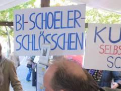 Stand der Bürgerinitiative Schoeler-Schlößchen