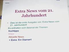 """""""Neues"""" aus Schülerhand"""