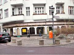 Ladenräume der Schuhmacherei Ebert in der Nehringstraße / Ecke Neue Christstraße (Dezember 2014)