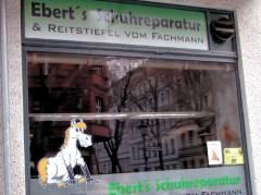 Schuhmacherei Ebert - Schuhreparaturwerkstatt und Reitstiefelverkauf