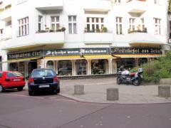 Schuhmacherei Ebert in der Nehringstraße / Ecke Neue Christstraße (2006)