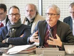 Finanzsenator Matthias Kollatz (SPD) bei der Debatte über die sogenannte Schulbauoffensive / Foto © Frank Wecker
