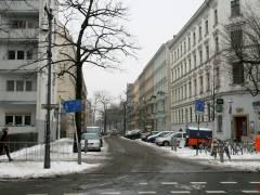 Seelingstraße (von der Schloßstraße gesehen)