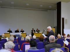 Senioren-Bezirksversammlung (Senioren-BV) im Rathaus Charlottenburg (März 2015)