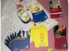 Infomaterial der Berliner Polizei zur Seniorensicherheit