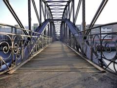 Siemenssteg - Fußgängerbrücke über die Spree in Charlottenburg