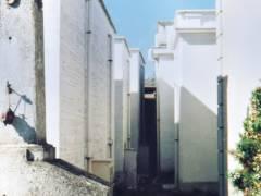 Gräberflucht auf dem Friedhof von Filonzi, nördlich von Chiaravalle