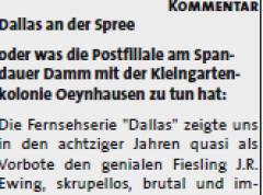 """Aus """"In Sichtweite"""", hg. von 4 Abteilungen der SPD Charlottenburg-Wilmersdorf, Ausgabe Nr. 9 (2013)"""