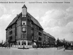 Spessartstr. 13 als Neubau 1914 / Foto Archiv Schultz