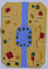 Spielplatz Klausenerplatz - Lageplan