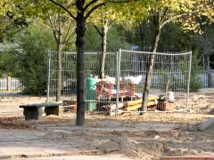 Spielplatz Klausenerplatz - Oktober 2014