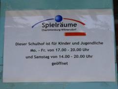 Erweiterte Schulhoföffnung an der Nehring-Grundschule