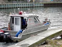 Voruntersuchungen zur Ufersanierung der Spree in Charlottenburg (März 2017)
