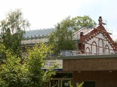 Sanierungsarbeiten am Stadtbad Charlottenburg - Juli 2008