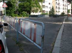 namenloser Platz an der Kreuzung Loschmidtstraße/Alt-Lietzow