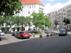 namenloser Platz an der Kreuzung Wundtstraße/Horstweg