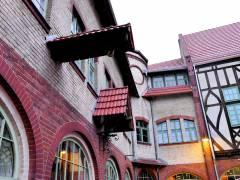 Hof der ehemaligen Feuerwache Alt-Lietzow