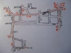Straßenbahn-Streckennetz (Februar 1953)