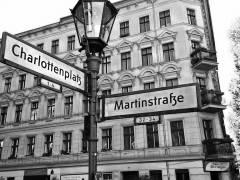 Straßenecke im Klausenerplatz-Kiez