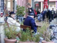 Kiezer Straßenleben in der Nehringstraße