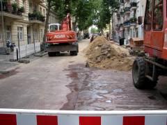 Straßensperrungen wegen Bauarbeiten auf der Danckelmannstraße