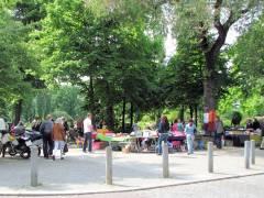 Straßenflohmarkt am Klausenerplatz