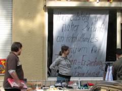 Straßenflohmarkt - in der Nehringstraße