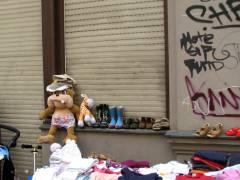 Straßenflohmarkt - Alles vom und fürs Kind