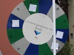 Straßenflohmarkt - das GEWOBAG-Glücksspiel