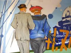 Wandmalerei in Charlottenburg