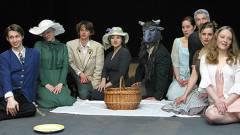 """Ensemble der ersten Produktion """"Weiße Ehe"""" im Teatr Studio / Foto © Frank Wecker"""