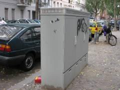 Verteilerkasten in der Nehringstraße