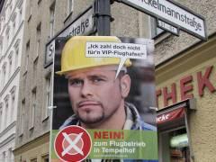 Partei-Plakate zum Volksentscheid - April 2008