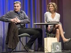 """Valerie Niehaus und Stefan Jürgens in """"Zwei wie wir"""" im Theater am Kurfürstendamm / Foto © Frank Wecker"""