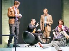 """""""Er ist wieder da - Interview auf der Bühne des Theaters am Kurfürstendamm / Foto © Frank Wecker"""