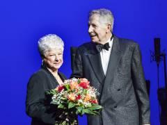 Ehrung zum Jubiläum 50 Jahre Berliner Theaterclub für Reni und Otfried Laur / Foto © Frank Wecker
