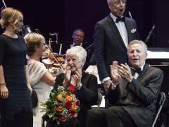 Ehrung zum Jubiläum 50 Jahre Berliner Theaterclub für Reni und Otfried Laur in der Deutschen Oper / Foto © Frank Wecker