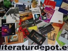 """Eine Auswahl aus dem Verlagsprogramm von """"Literaturdepot"""""""