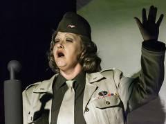 """Marlene 1945"" im Theater O-TonArt / Foto © Frank Wecker"