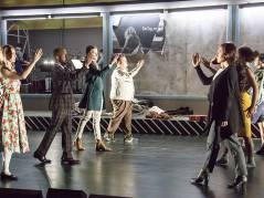 """""""In Transit"""" in der Deutschen Oper / Foto © Frank Wecker"""