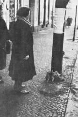 Frühe 1950er Jahre vor Uhlandstraße 103 - Foto privat