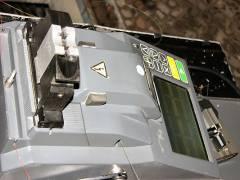 Verschweißmaschine mit Testfunktion für Glasfaser-Leiter