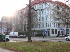 Verkehrssperrung in die Neue Christstraße