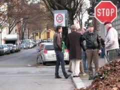 Verkehrssperrungen - erregte Diskussionen an der Schloßstraße