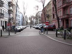 Verkehrssperrungen - Einfahrt von der Neufertstraße in die Nehringstraße gesperrt