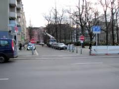 Verkehrssperrungen - Einfahrten vom Spandauer Damm zum Klausenerplatz gesperrt