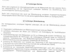 Ausschnitt aus den Pankower Vereinbarungen