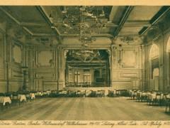 Viktoriagarten - Der große Saal, Postkarte von 1924 / Bildquelle Museum Charlottenburg-Wilmersdorf