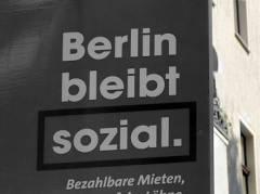 Wahlplakat der SPD zu den Berliner Wahlen 2016